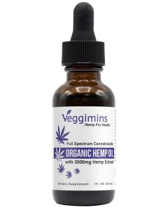 Organic CBD Oil 3000mg_front